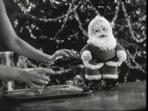 Santa Doll Christmas (Coca Cola 1958)