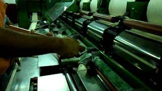 Process of comber machine.AVI