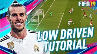 FIFA 19 FINISHING TUTORIAL! HOW TO SCORE THE LOW DRIVEN IN ULTIMATE TEAM!