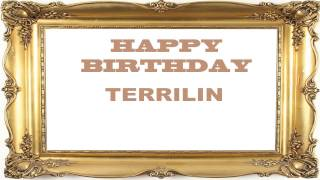 Terrilin   Birthday Postcards & Postales