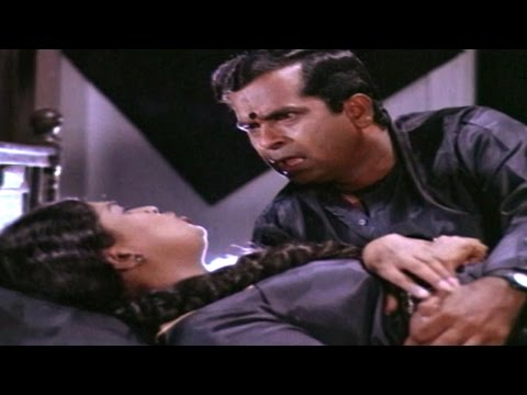 Brahmanandam & Pakeezah Hilarious Comedy Scene || Rowdy Gari...