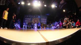 HONG 10 vs SUNNI - UK B-Boy Champs Quarter Final 2011