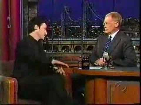 Keanu Reeves on Letterman Video