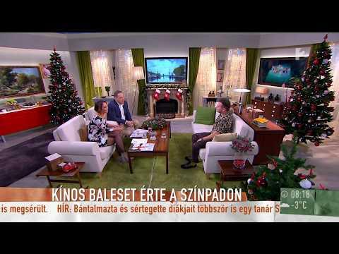 Előadás alatt tört el Mészáros Árpád Zsolt lábfeje? - tv2.hu/mokka