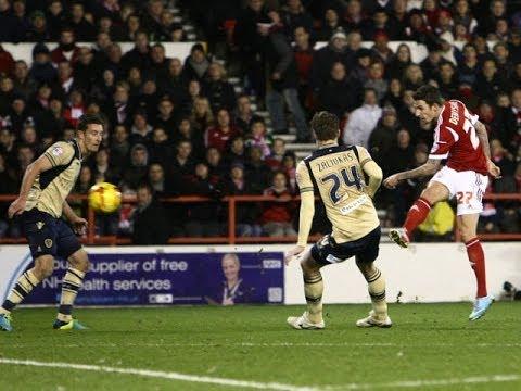 Highlights: Forest 2-1 Leeds (29.12.13)