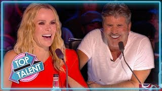 Top 5 Comedians on Britain's Got Talent 2019 | Top Talent
