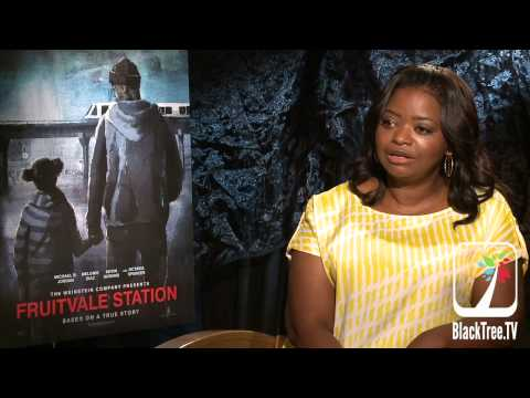 Octavia Spencer relates to the mom of Oscar Grant | Fruitvale Station