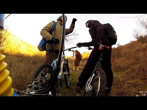Aventuri pe bicicleta : Peripetii de februarie