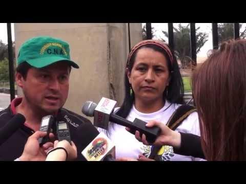 11 de Abril: Voceros Cumbre Agraria presentan Pliego al Gobierno