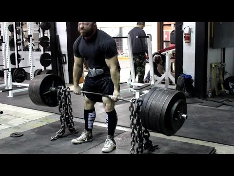 JEREMY HAMILTON: Deadlift Training 06/12/13 Week 1 Image 1