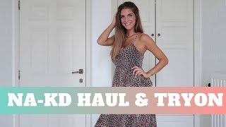 NA-KD SHOPPING HAUL & TRYON