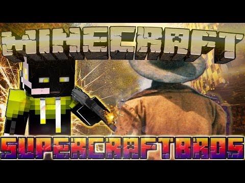 НЯШКА VS ГОРНЫЙ БАРАШИК! Supercraftbros #14 (дуэль) игра за OCELOT'A!