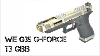 REVIEW PT-BR / GLOCK G35 G FORCE T3 WE - WARSOFT BRASIL