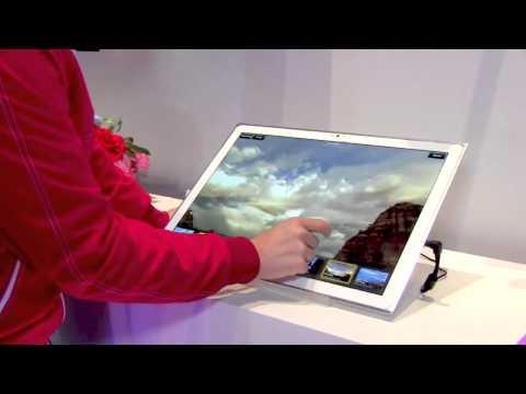 La tableta de 20 pulgadas y 4K de Panasonic desde el International CES 2013