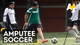 Meet The Panteras: A Soccer Team For Amputees