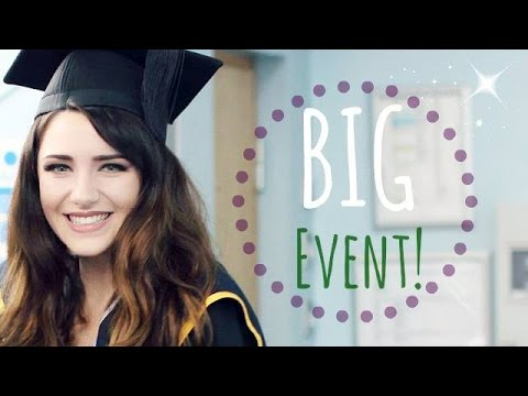 Get Ready With Me Uni Graduation! Skin Makeup U0026 Hair (Great For Pictures) - YouTube