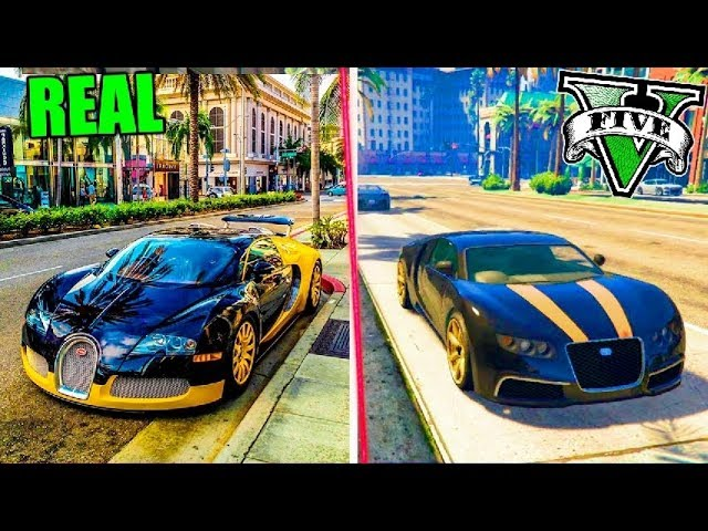GTA 5 VS REAL LIFE