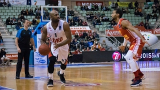 Mardy Collins got 20 pts, 3 rebs, 3 as and 1 bs vs UCAM Murcia