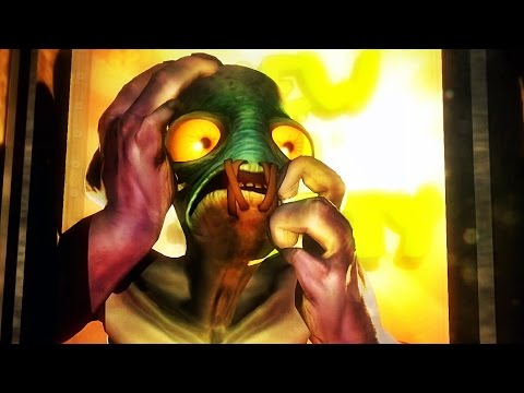 Oddworld: New 'n' Tasty Abe's Oddysee Gameplay Walkthrough Part 1 - Review (PS4)