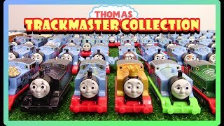 How many Thomas'? BIGGEST THOMAS TRACKMASTER COLLECTION|Thomas and Friends Toys