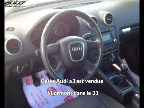 Audi a3 occasion visible à Lormont présentée par Vpn bordeaux