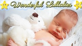 4 Hours Super Relaxing Mozart Lullaby ♥♥♥ Soft Baby Sleep Music ♫♫♫ Twinkle Little Star Hushaby