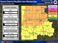 Severe Weather Outlook for This Week- May 1st 2018