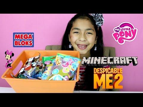 Monday Blind Bag Bin My Little Pony, Despicable Me, Disney Figural, Minecraft, Lps video