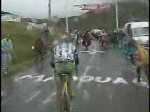 Lance Armstrong-Hautacam Attack Video