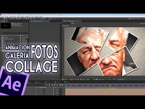 Tutorial After Effects galeria fotos collage by @ildefonsosegura