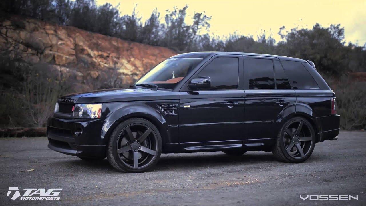 Range Rover On 22 Quot Vossen Vvs Cv3 Concave Wheels Rims