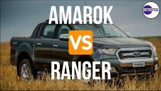 Volkswagen Amarok VS Ford Ranger Limited