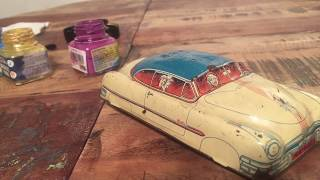 Huki Makeover: Toy Car Made In Western Cermany In 1948