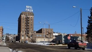 Butte Montana Video Tour Old Mining DownTown HeadFrame Tunnel Whore Houses Historic Red Light