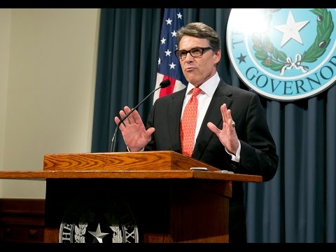 """Gov. Perry Calls Indictment an """"Abuse of Power"""""""