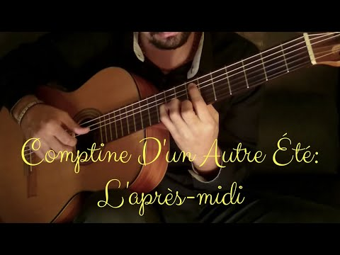 20. Comptine D'un Autre Été: L'après-midi (Yann Tiersen) - Classical Guitar by Luciano Renan