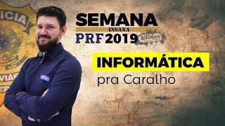 🔥 Aula de Informática para o Concurso da PRF - Prof. João Paulo - AO VIVO - Semana Insana - Alfacon