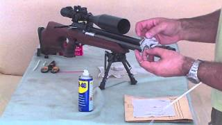 Air rifle barrel cleaning - easy, quick, cheap and effective