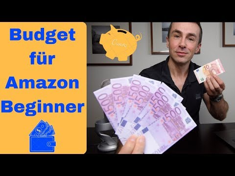 Amazon FBA Verkäufer Startkapital, das Budget für Beginer für alle Kosten