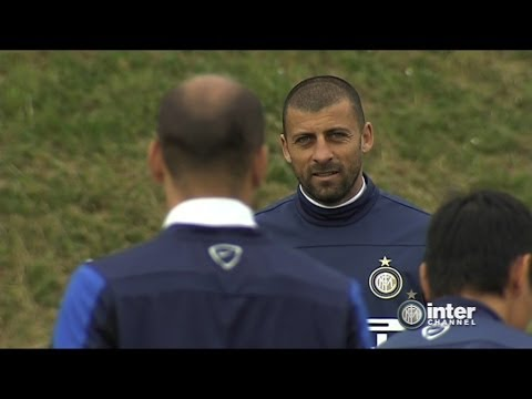 ALLENAMENTO INTER REAL AUDIO 18 04 2014