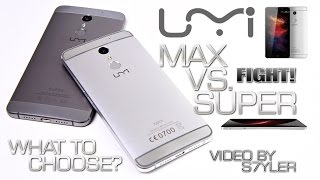 UMI Max vs. UMI Super (Comparison/English) Which one is best? // by s7yler