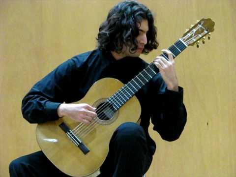 Tres piezas para guitarra, II. Carlos Chávez