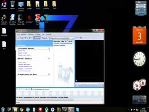 Tutorial per come usare Windows Movie Maker - YouTube