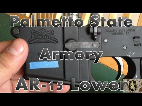 Palmetto State Armory Blem AR-15 Lower Review