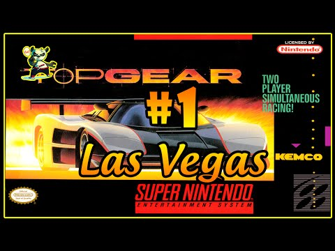 Super Nintento - Top Gear - #1 - Las Vegas