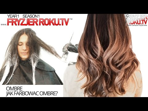 OMBRE ★ Jak Farbowac Ombre? How To: OMBRE FryzjerRoku.tv