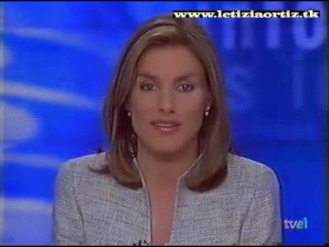 Letizia Ortiz - Cierre de telediario