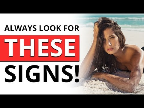 5 HIDDEN, but Obvious Signs She WANTS You | How to Tell if a Girl Actually Likes You