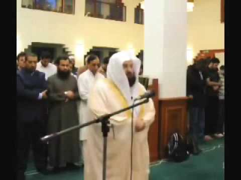 Imam Of Haram Makkah Sheikh Sudais Leading Isha Prayers In The Uk video