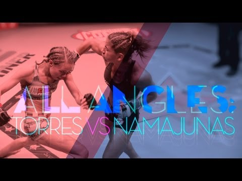 Invicta FC 6 - All Angles: Torres vs Namajunas